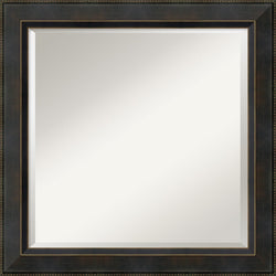 Amanti Art Hemingway Square Mirror Framed Mirror AA01482