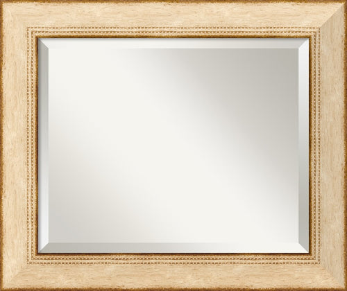 "25x21"" Highland Park Mirror Cream"