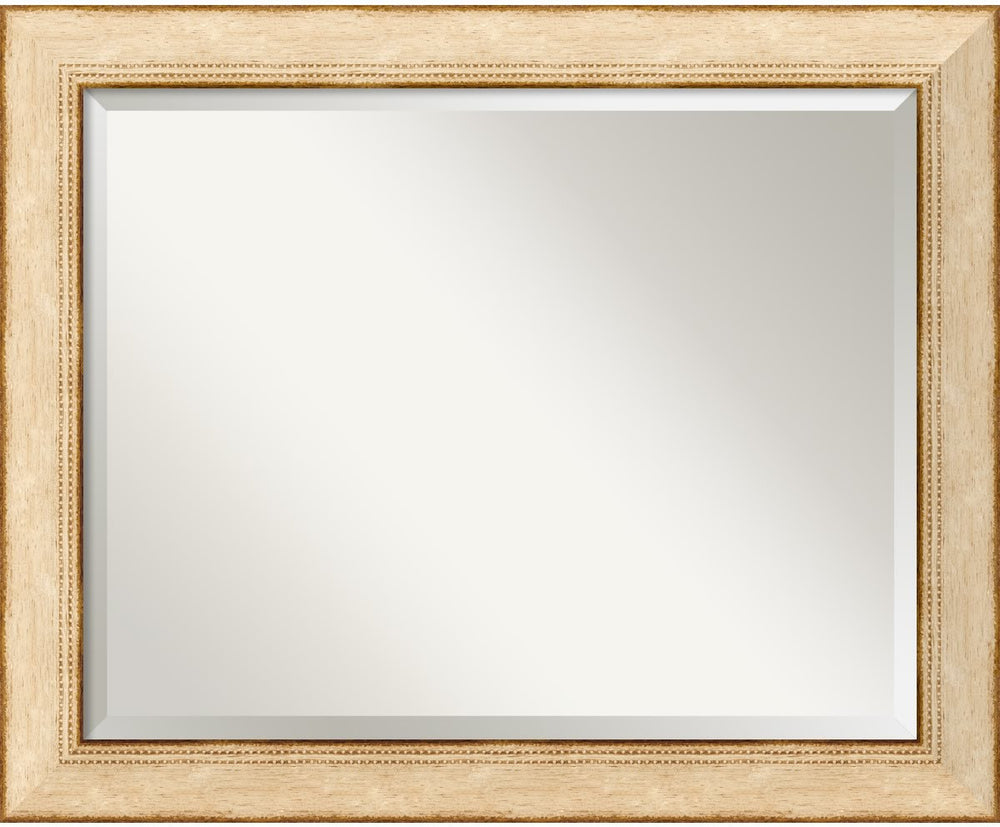 "33x27"" Highland Park Mirror Cream"