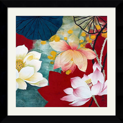 Amanti Art Hong Mi Lim Lotus Dream I Framed Print AA114853