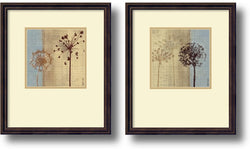 Amanti Art In the Breeze Framed Art Dark Bronze AA406531