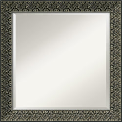 Amanti Art Intaglio Mirror Antique Black AA577344