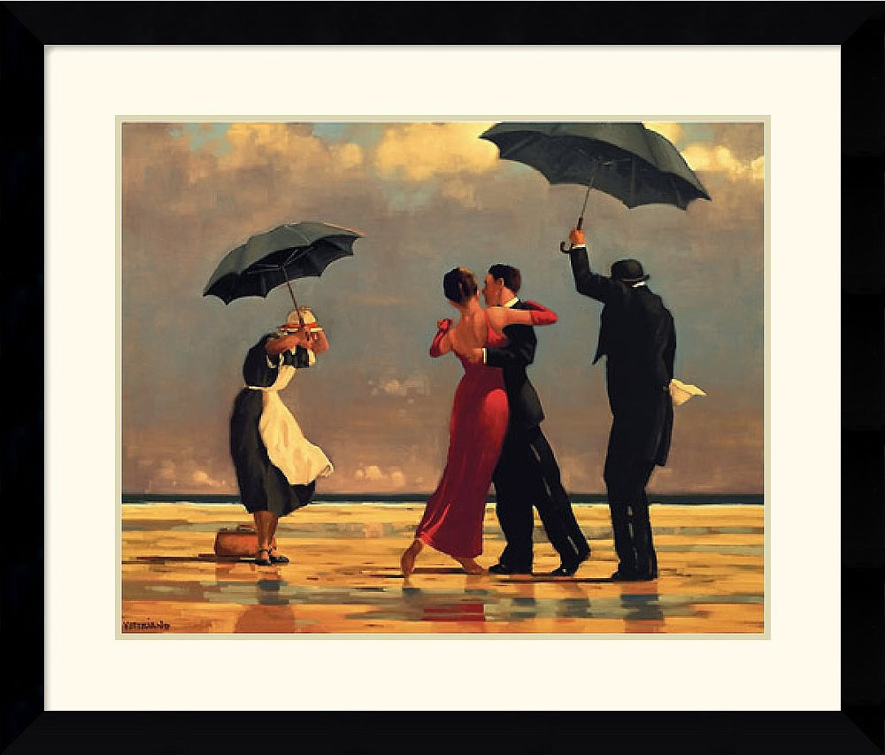 "27""H x 33""W Jack Vettriano The Singing Butler Framed Print"
