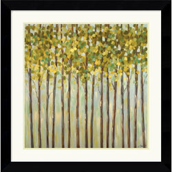 Amanti Art Libby Smart Different Shades of Green Framed Print AA114036