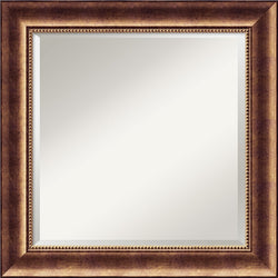 Amanti Art Manhattan Square Mirror Framed Mirror AA01485