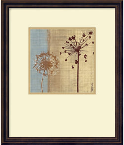 "16x19"" Tandi Venter In the Breeze I 2006 Framed Print"