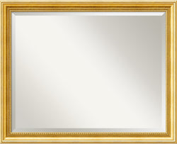 "25x31"" Townhouse Gold Mirror Large Framed Mirror"