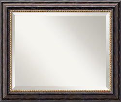 Amanti Art Tuscan Rustic Mirror Medium Framed Mirror AA01017
