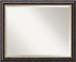 "26x32"" Tuscan Rustic Mirror Large Framed Mirror"