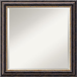 Amanti Art Tuscan Square Mirror Framed Mirror AA01486