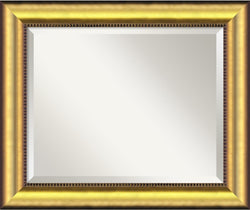 "25x21"" Vegas Mirror Burnished Gold"