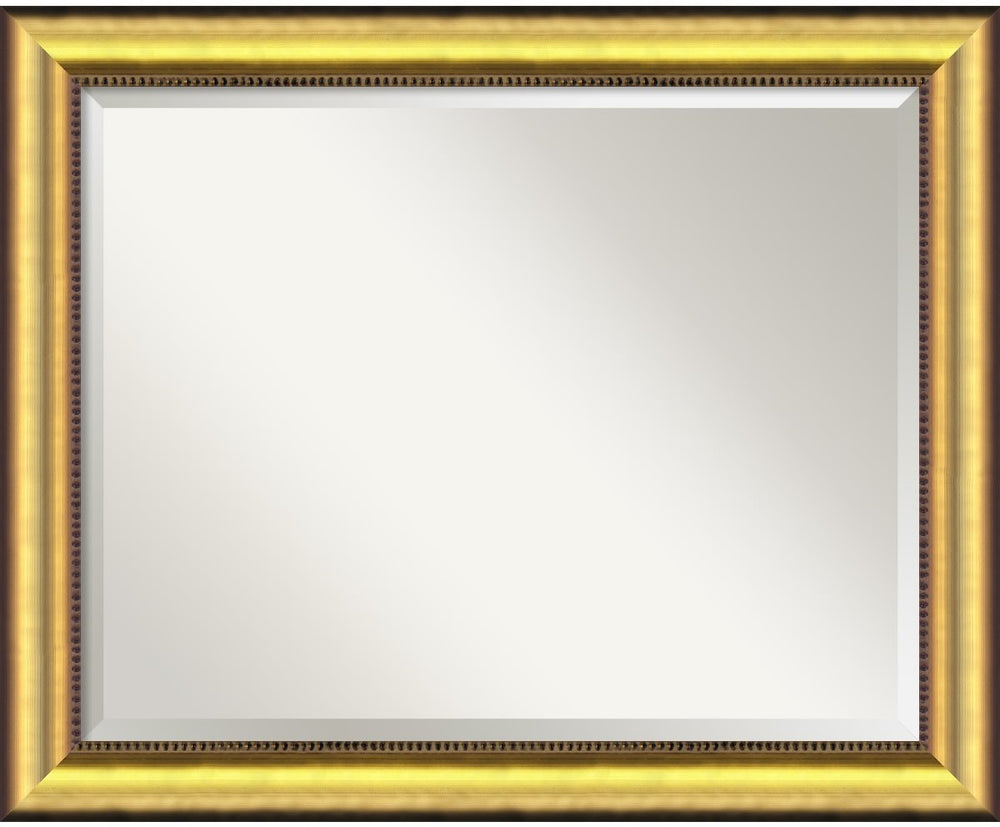 "33x27"" Vegas Mirror Burnished Gold"