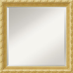 "24x24"" Versailles Square Mirror Framed Mirror"