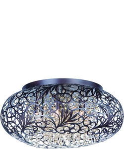 Maxim Arabesque 7-Light Flush Mount 24150CGOI