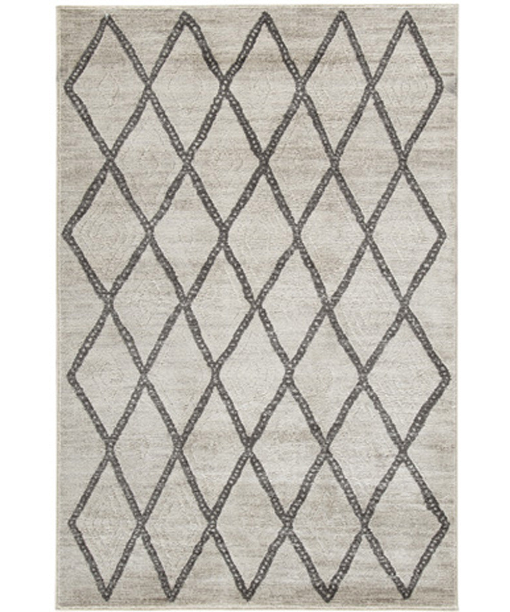 "60""W Jarmo Medium Rug Gray/Taupe"