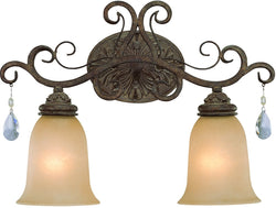 0-005695>Englewood 2-Light Bath Vanity Light French Roast
