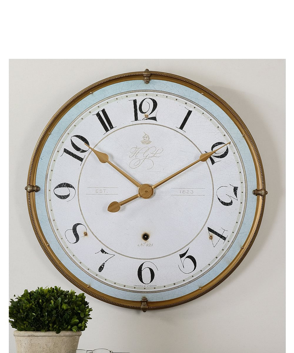 "32""H Torriana Wall Clock"