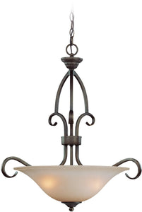 0-037514>Gatewick 3-Light Pendant Light Century Bronze