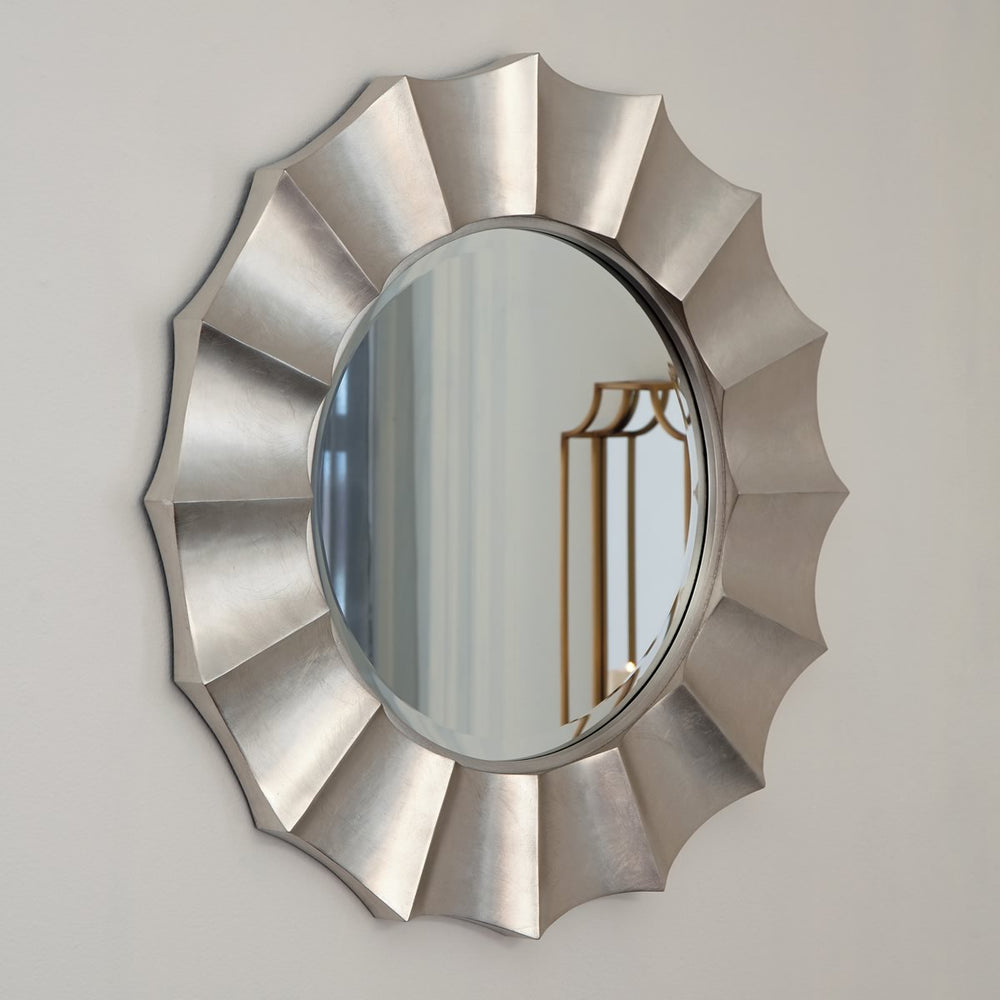 "32""H Elsley Accent Mirror Silver"