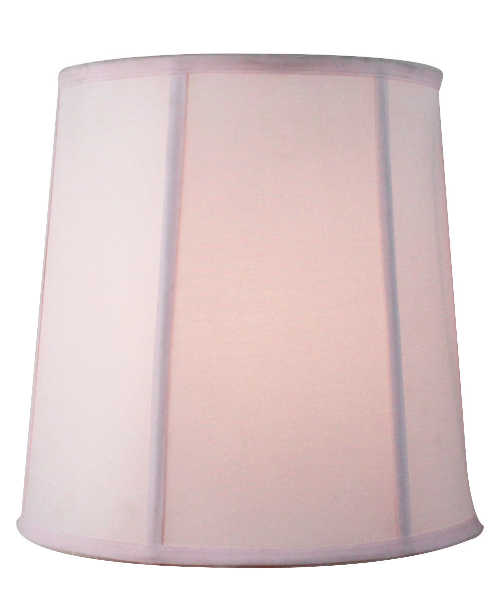 10x12x12 Pale Dogwood Fabric Softback Drum Lamp Shade