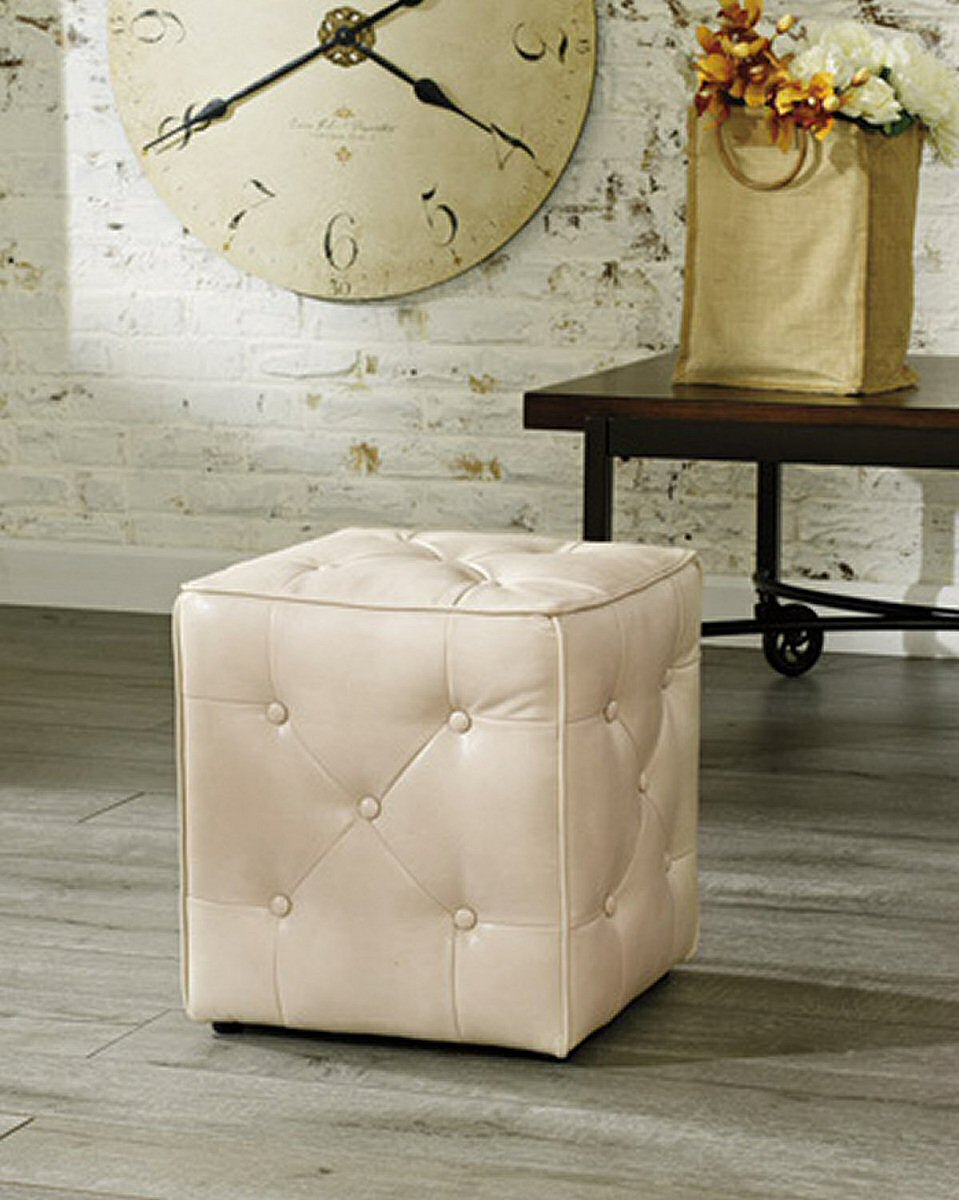 "18""H Jive Accent Ottoman Taupe"