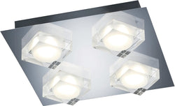 0-007998>Brooklyn LED Ceiling Light Chrome
