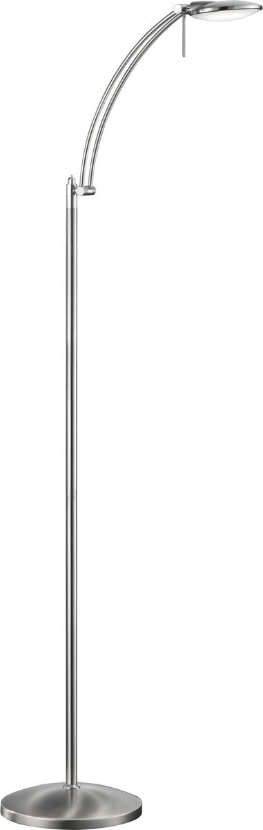 Dessau LED Floor Lamp   Nickel-Matte