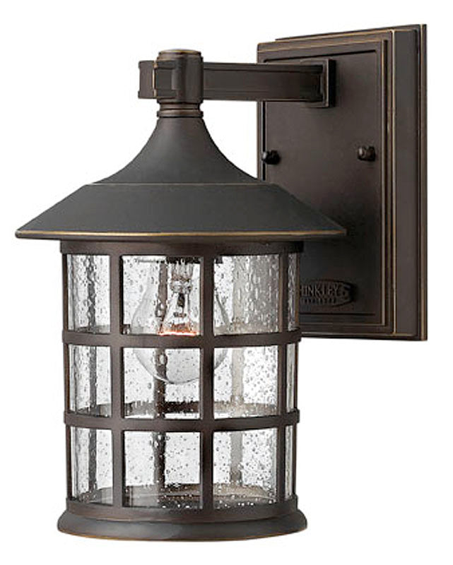 "9""H Freeport Outdoor Wall Lantern Oil Rubbed Bronze"