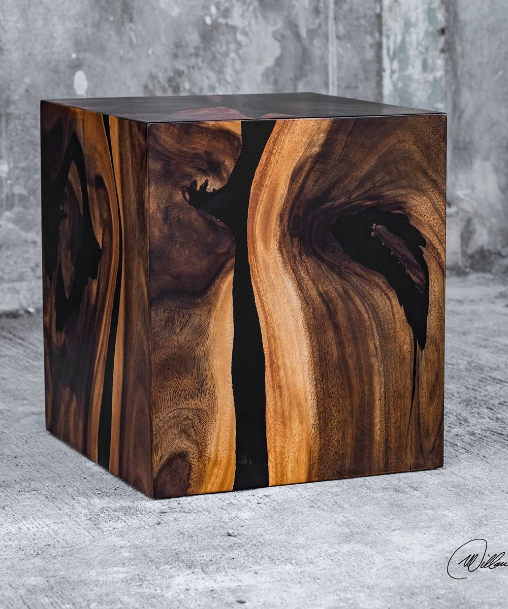 "16""H Neri Cube Accent Table"