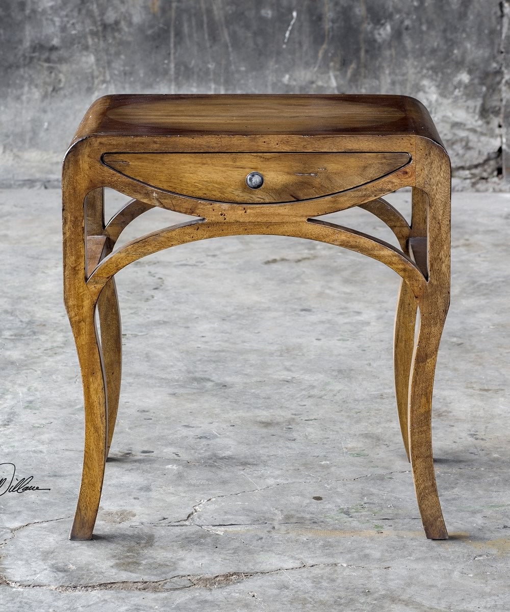 "23""H Cheryth Pecan End Table"