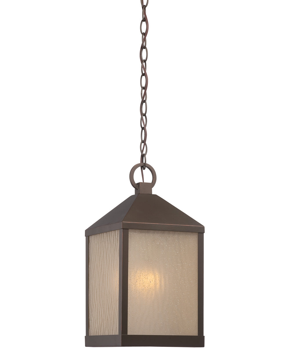 "9""W Haven 1-Light Outdoor Mahogany Bronze"