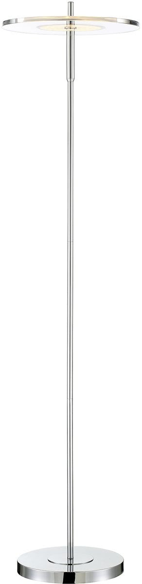 Otoniel 1-light Floor Lamp Chrome