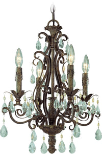 0-033144>Englewood 4-Light Chandelier French Roast