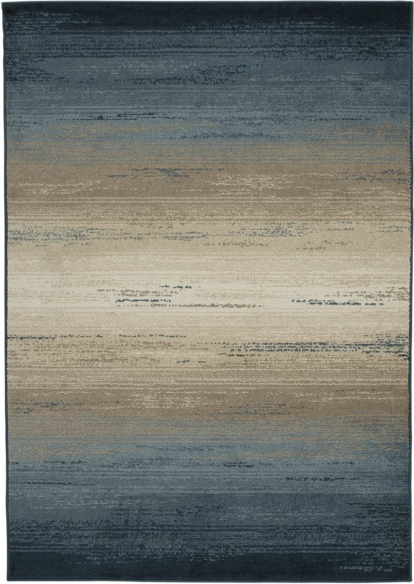 Ignacio Medium Rug Blue/Tan 5x7