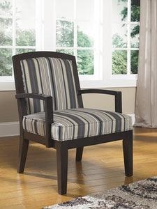 Yvette Showood Accent Chair Black
