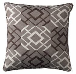Raymond Pillow Brown/Cream
