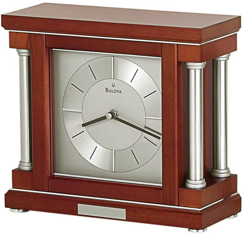 Bulova Clocks Ambiance Mantel Clock B7651