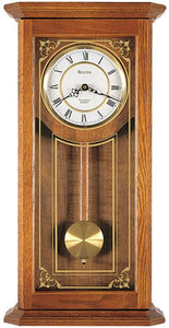 Bulova Clocks Cirrus Chiming Wall Clock C3375
