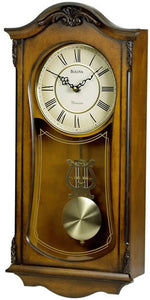 Bulova Clocks Cranbrook Chiming Wall Clock C3542
