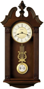 Bulova Clocks Ridgedale Chiming Wall Clock C4437