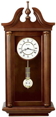 "39""h Manchester Chiming Wall Clock"