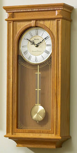Bulova Clocks Manorcourt Chiming Wall Clock C4419
