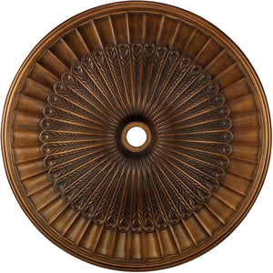 "51""W Hillspire  Ceiling Medallion Antique Bronze"
