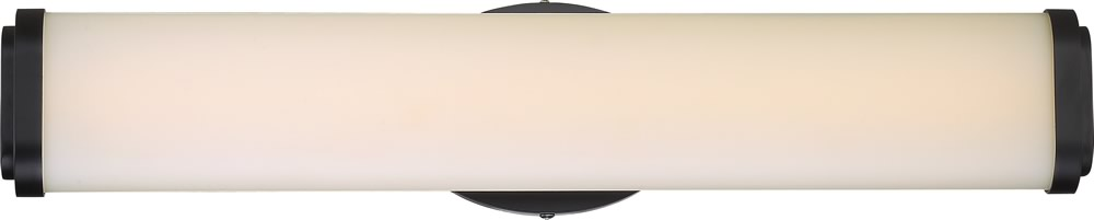 "5""W Pace 1-Light Vanity & Wall Aged Bronze"