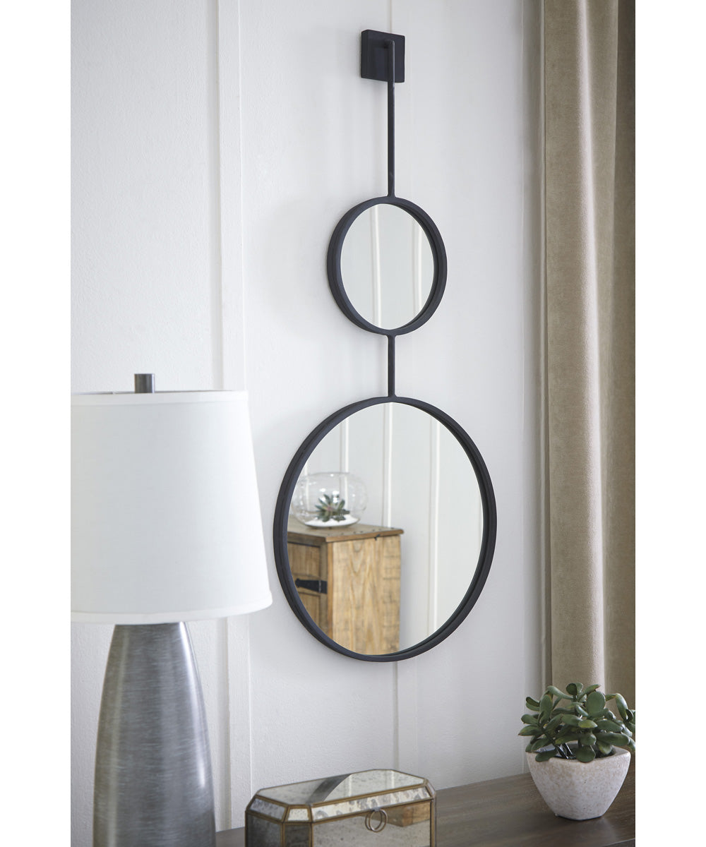 "42""H x 18""W Brewer Accent Mirror Black"