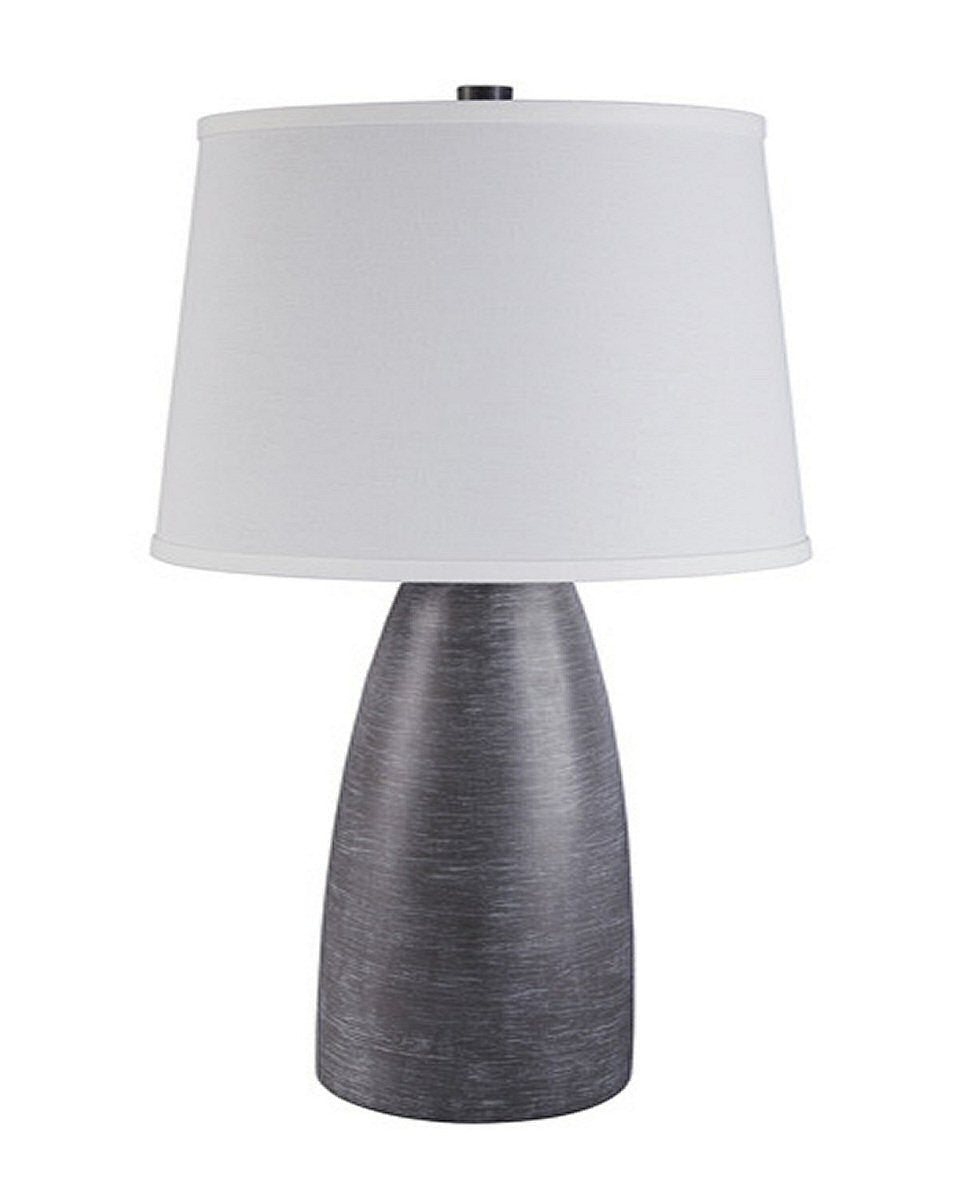 Shavontae Poly Table Lamp (Set of 2) Gray