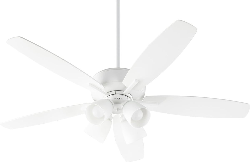 "52""W Breeze 4-light LED Ceiling Fan Studio White"
