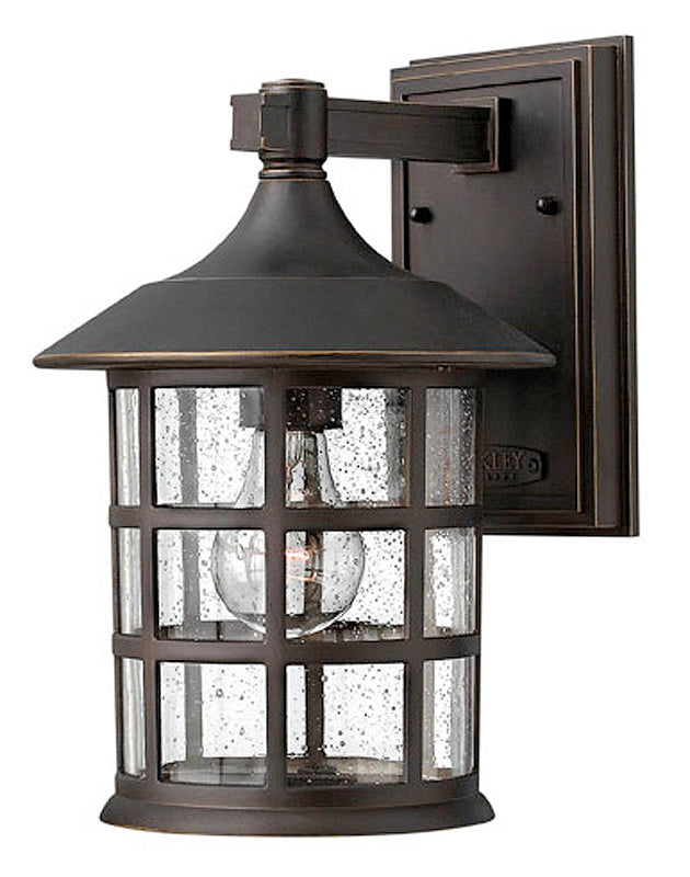 "12""H Freeport Outdoor Wall Lantern Oil Rubbed Bronze"