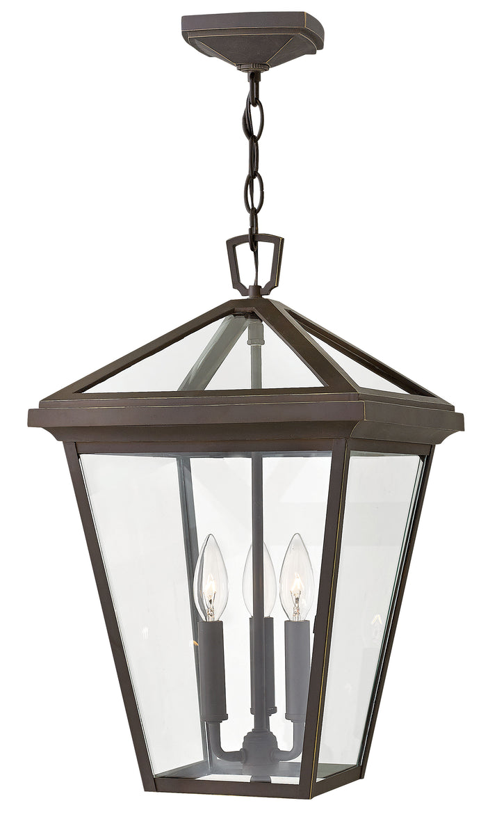 Alford Place 3-Light Outdoor Hanging Light in Oil Rubbed Bronze