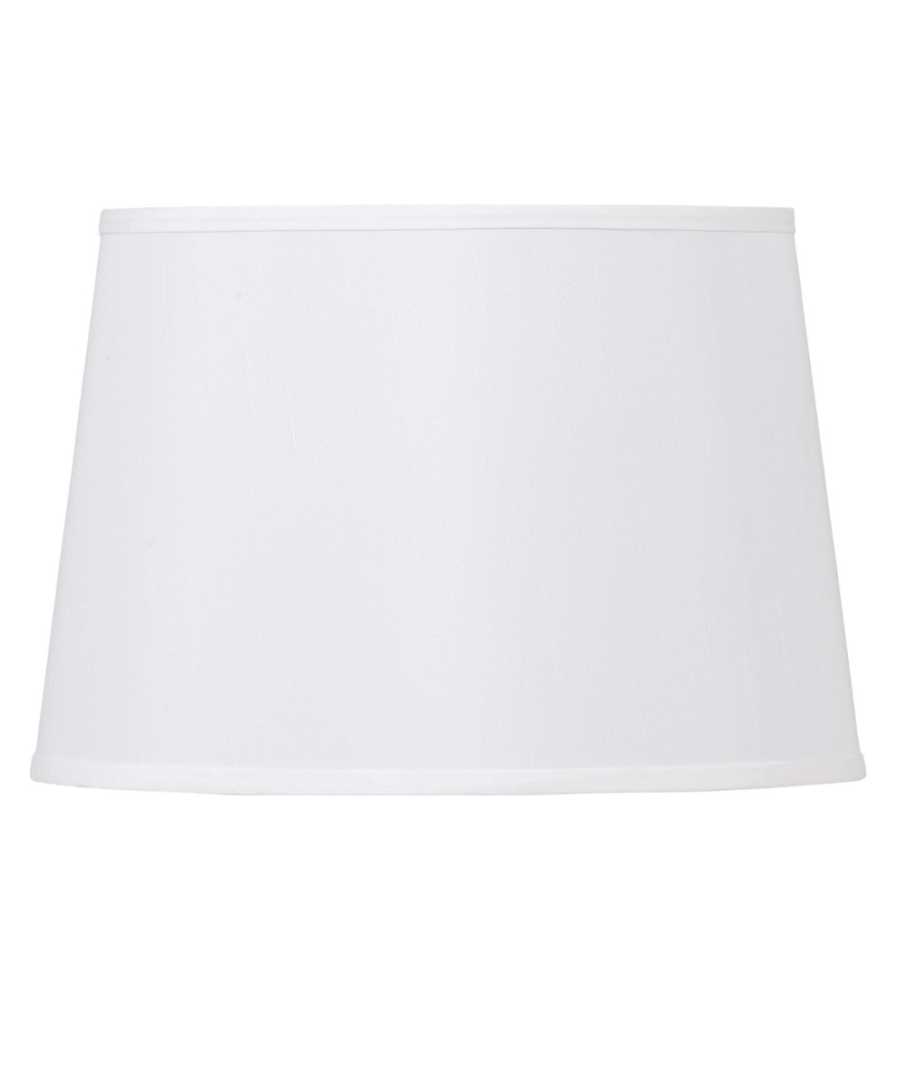 "14""W  x 10""H White Empire Lamp Shade"